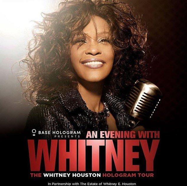 L'ologramma di Whitney Houston inizia un tour mondiale
