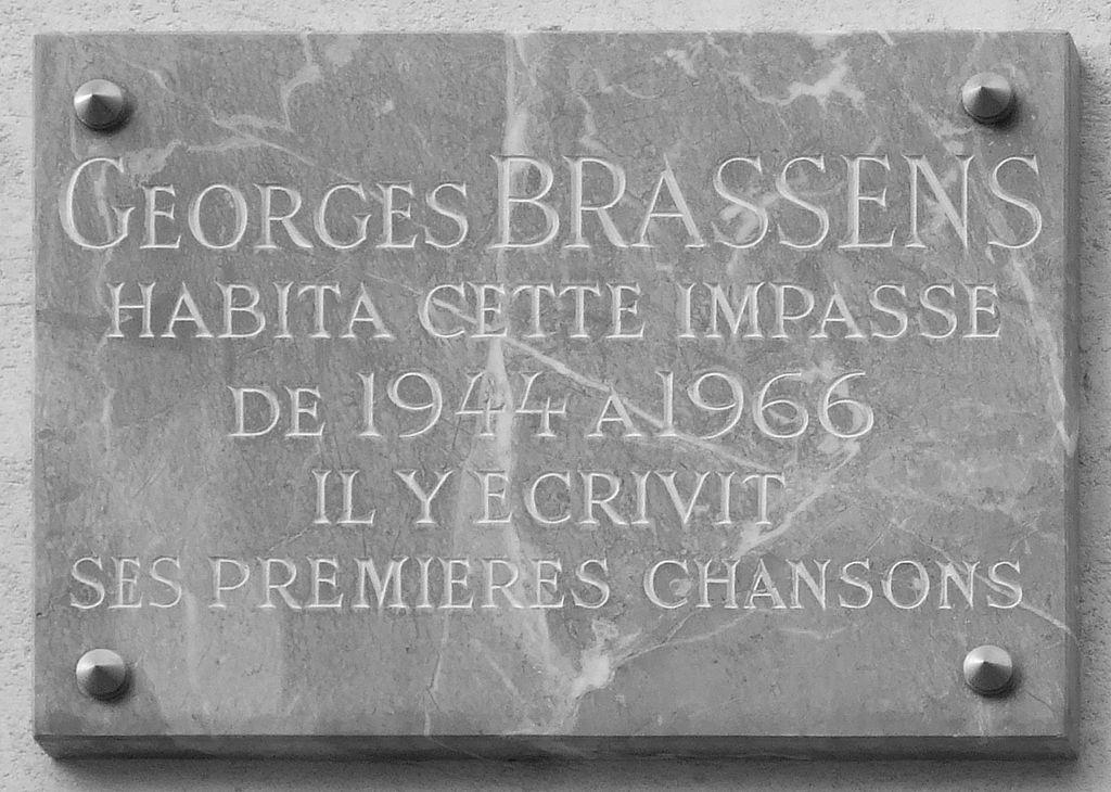 targa-georges-brassens